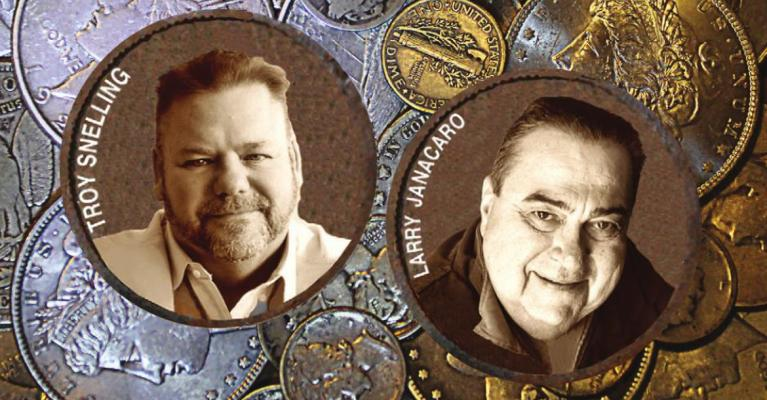 EXCELSIOR AUCTION CO., specializing in coins and other collectibles, is led by Troy Snelling and Larry Janacaro. Auctions take place live and online. J.C. VENTIMIGLIA | Staff