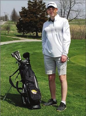 SOPHOMORE Ethan Edwards looks to improve on last year's fifth-place district finish. FROM EXCELSIOR SPRINGS golf to Richmond baseball, high school sports teams have plans for the spring season, but the coronavirus is ruining their chances to play.