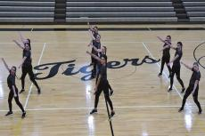 THE TIGERETTES display their dancing skills. TIM HARLAN | Submitted Photo